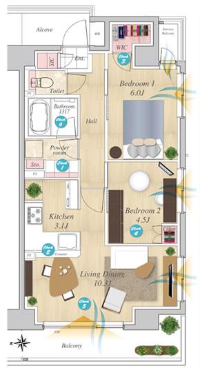 STEP 1:物件紹介・人物設定・お部屋の使い方