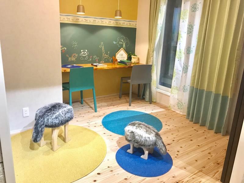 男の子の部屋 賢い子に育てる部屋