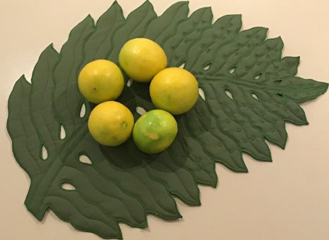 レモンの収穫