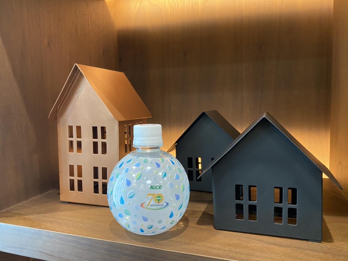 ナイス株式会社70周年記念オリジナルペットボトル